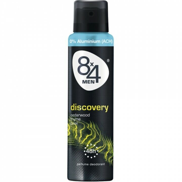 8x4 Deospray   6*150ml for Men  Discovery