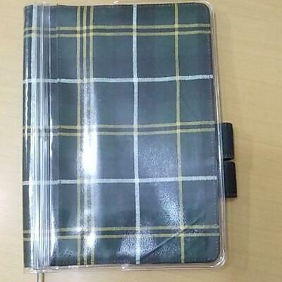 Hobonichi Cousin Diary Cover Scottish Check Model Fake Fabric 2014 Spring Series