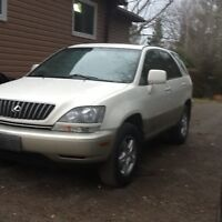 2000 Lexus RX Leather SUV, Crossover