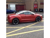 PEUGEOT RCZ 2010 PEUGEOT RCZ GT THP 200 BHP COUPE STUNNING CAR INSIDE AND OUT,DRIVES AMAZING.