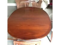 Dining table, 6 chairs and sideboard. G plan mahogany.