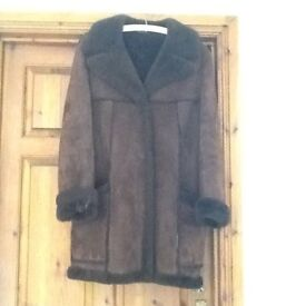 Ladies Sheepskin Coat immaculate condition