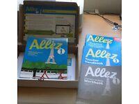 Allez 1 Evaluation pack- Student's book, Grammar workbook, teacher's book