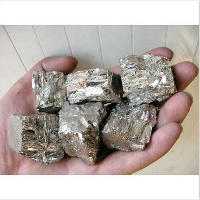 100 grams High Purity 4N 99.99% Bismuth Bi Metal Lumps Block L 글