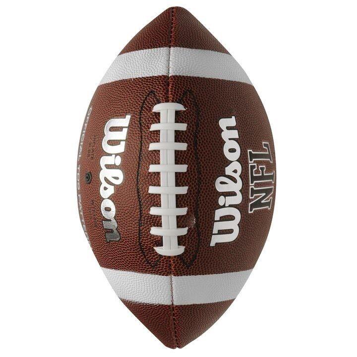 ✅? Official WILSON Football TDS NFL American Super Bowl Ball Soft Grip League