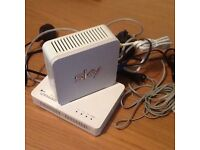 Sky Box & Router