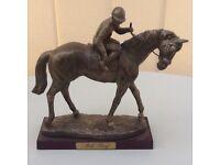 Atlas collectables horse bronze figurines