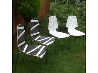 Ikea kitchen chairs.