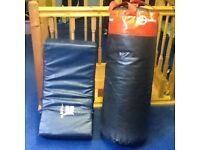 Punch bag and pad