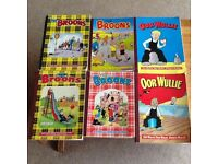 The Broon's and Oor Willie Books