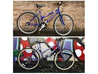 2 PUSH BIKES FOR SALE