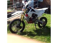 140cc big wheel pit bike