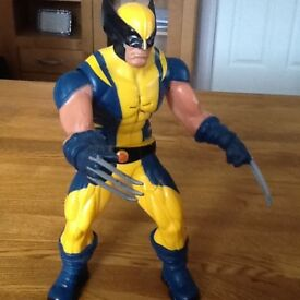 Wolverine toy, talks & moves