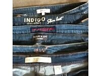 Ladies jeans size 16 small