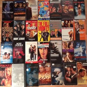 DVD's and VHS movies, 360 total. swap considered