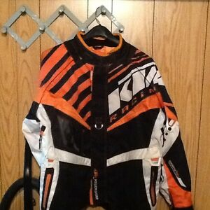 KTM jacket and riding gear