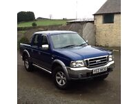 2004 Ford Ranger XLT Thunder Ballycarry. Co. Antrim