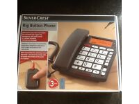 Big Button Phone with Emergency Call Function