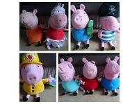 Peppa Pig soft toys