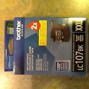 Brother Ink Cartridge - LC107BK - NEW