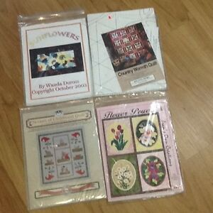Quilt Patterns and Lap Frame