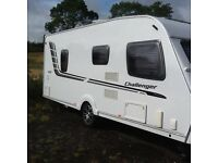Swift Challenger 570 single axel caravan in lovely condition 2010 model