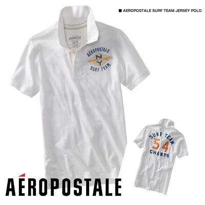 Mens Aeropostale 87 NY Jersey Surf Team Jersey Polo Shirt size XS NWT #1809