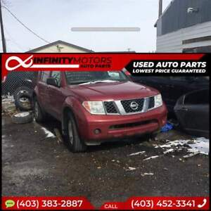 2006 NISSAN PATHFINDER FOR PARTS PARTING OUT CARS CAR PARTS