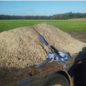 We need your fill.  Clay, sandy loam even top soil with weeds.
