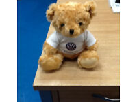 20CM HIGH TEDDY BEAR WITH COMMERCIAL VEHICLES LETTERING