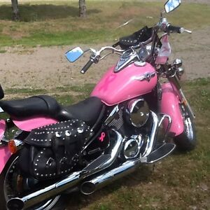 Beautiful motorcycle for any lady