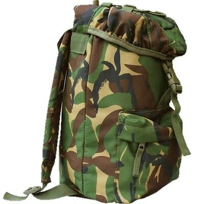 MILITARY 15 LITRE RUCKSACK DPM CAMO DAYSACK SCOUTS BRITISH ARMY CADET AIRSOFT