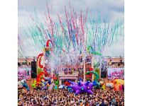 x2 tickets to Elrow Town in London- Saturday 18th August