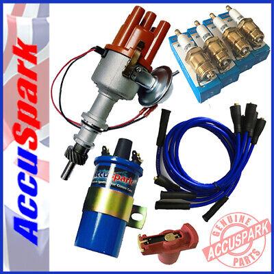 FORD PINTO Electronic ignition Distributor + Full overall kit inc Iridium Plugs