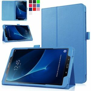 Smart flip leather stand case cover for samsung galaxy tab for Housse galaxy tab a6