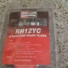 Brand new champion RN 12 YC resistor spark plugs Seaview Downs Marion Area Preview