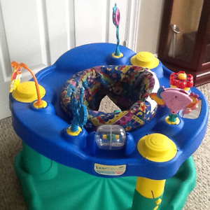 Exersaucer, Ride On, little drums(musical)' and pampers pull ups