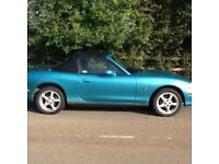 Attractive Mazda MX5 1.6 mk2. 2003