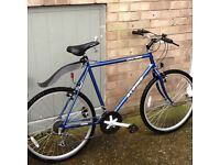 Practically new bike only used a couple of times £60