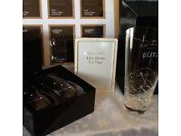 Wedding /anniversary for sale, glasses, vase crystal. Stunning. RRP £100