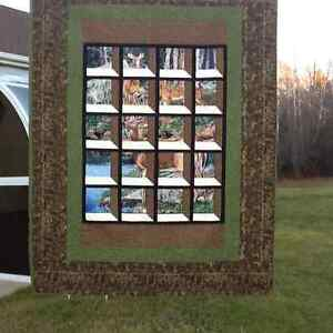 Beautiful gift, For that special person.Attic Window quilt
