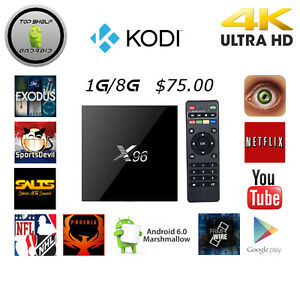 Android Boxes X96 S905X Quadcore 1G 8G