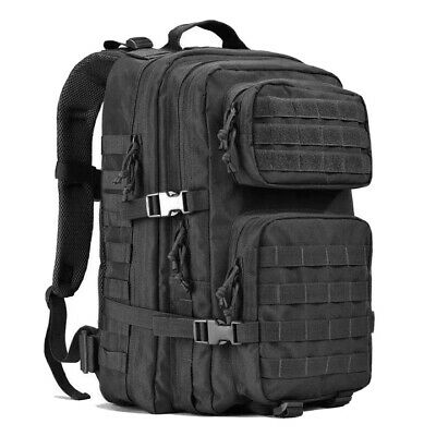 Tactical Backpack 3 Day Pack Waterproof MOLLE Bug Out 45 L Large