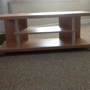 TV Stand & matching Shelves $60 for both pieces