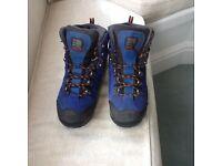 Hot Rock men's walking boots by Karrimor (used twice). Size 9