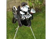 GOLF CLUBS (LEFT HANDED)