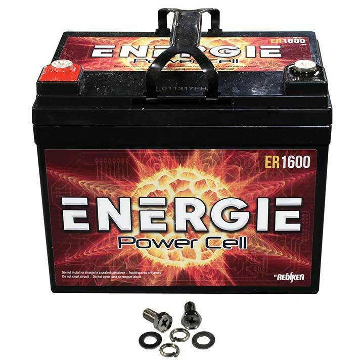 Energie ER1600 1600 Watt Car Audio Power Cell Bettery 12V Sealed Reikken U1