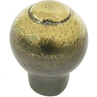 Top Knobs Chateau Pommel Style Iron Knob M442 Dark Antique Brass Finish NEW