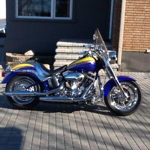 Moto Harley davidson FLSTF  FAT BOY CVO