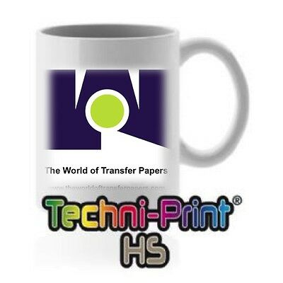 Neenah Techniprint Hs Hard Surfaces Laser Transfer Paper 10 Sheets 8.5x11